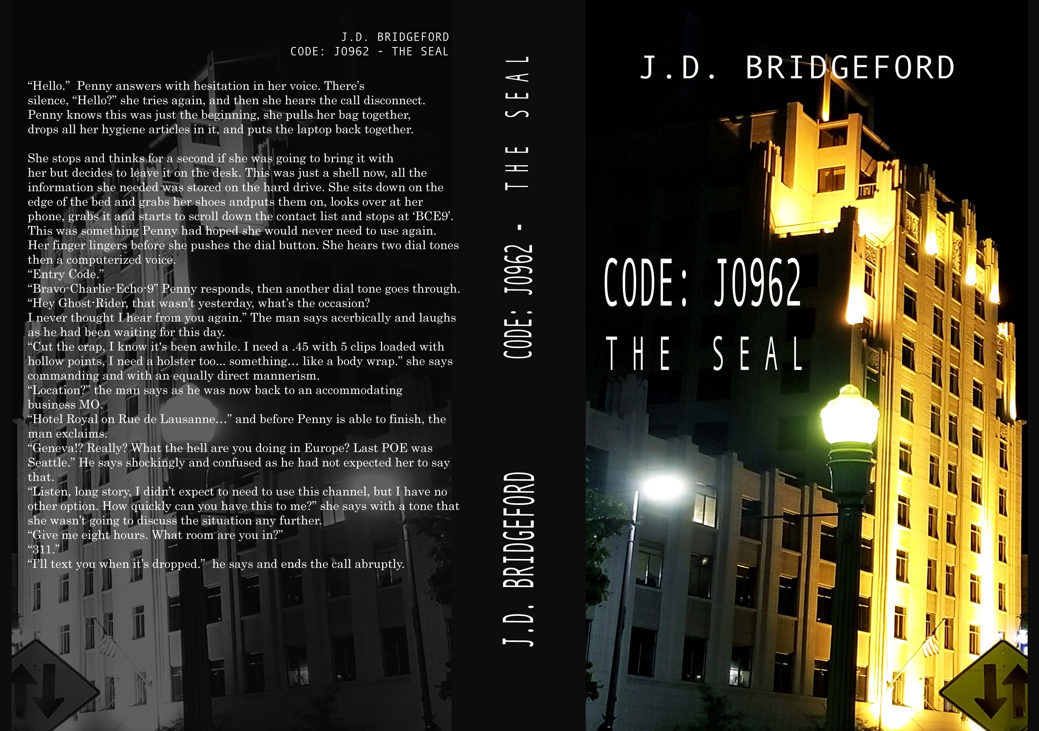 CODE JO962 - THE SEAL
